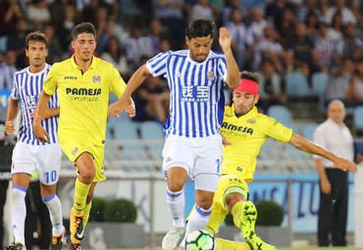 El Villa Real no pudo lograr ni un solo gol durante todo el partido. (Foto: Contexto/Internet).