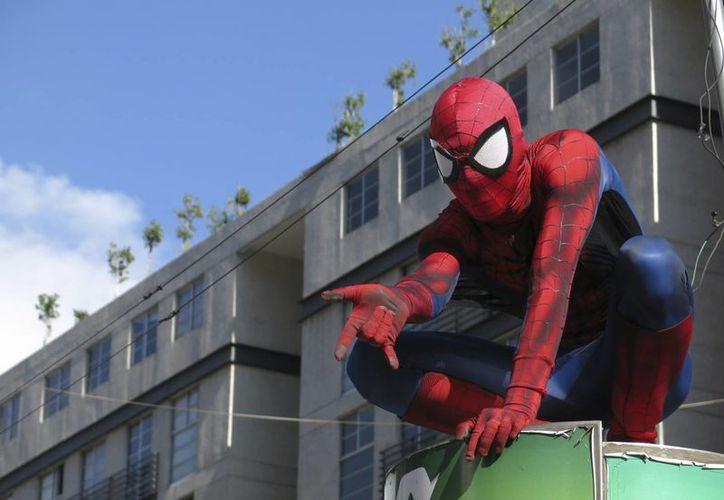 El Hombre Araña es de los preferidos del cosplay. (Agencias)
