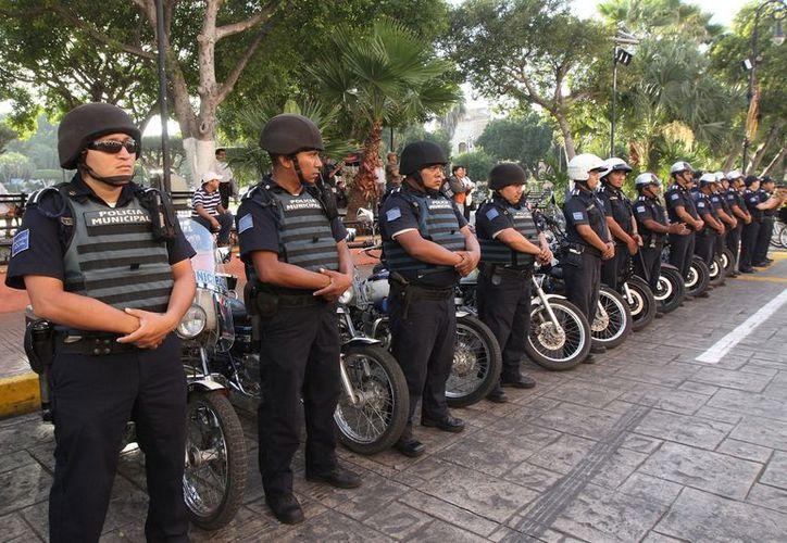 En el operativo de seguridad de diciembre participarán 360 agentes municipales, 328  hombres y 32 mujeres. (Cortesía)