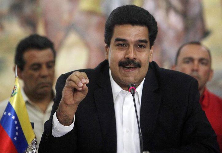 """El segundo al mando de Venezuela agradeció """"la fortaleza que ha habido para enfrentar la guerra psicológica, la guerra sucia contra nuestra pueblo"""". (EFE)"""