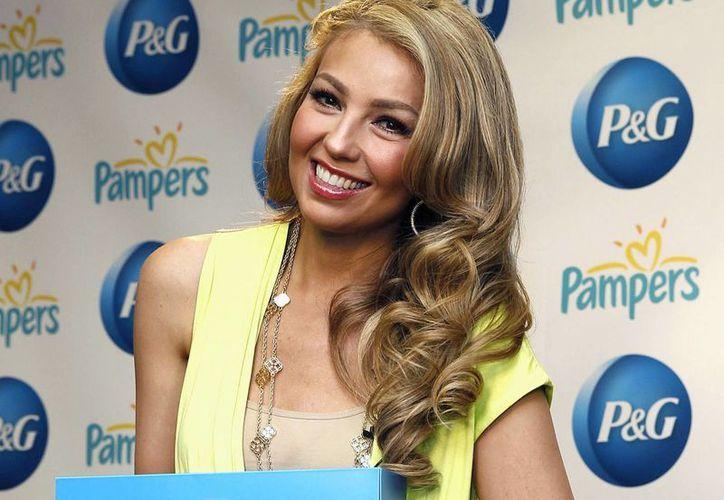 Thalía dice que estar de Tour con sus hijos ha sido de lo más divertido en su carrera. (Agencias)