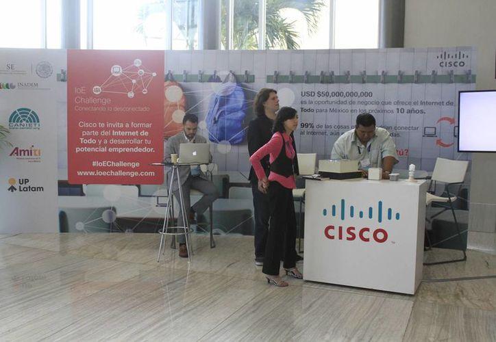 El evento de Cisco Live se realiza en el Moon Palace. (Sergio Orozco/SIPSE)
