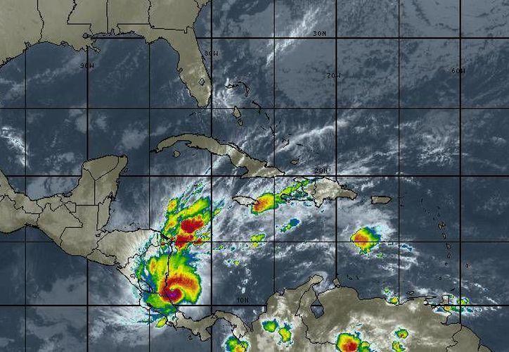 Los vientos oscilarán en los 20 kilómetros por hora en Cancún. (Intellicast)