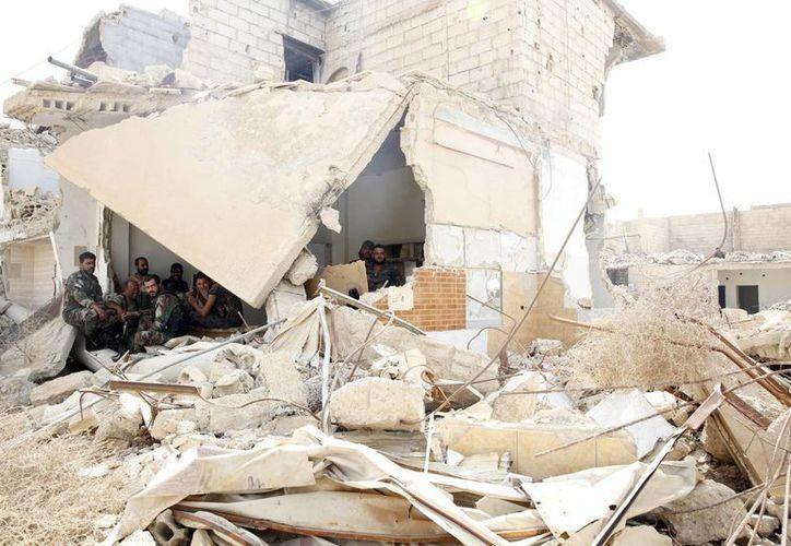 La ONG también registró hoy los ataques aéreos a Morek y Suran. (Archivo/EFE)