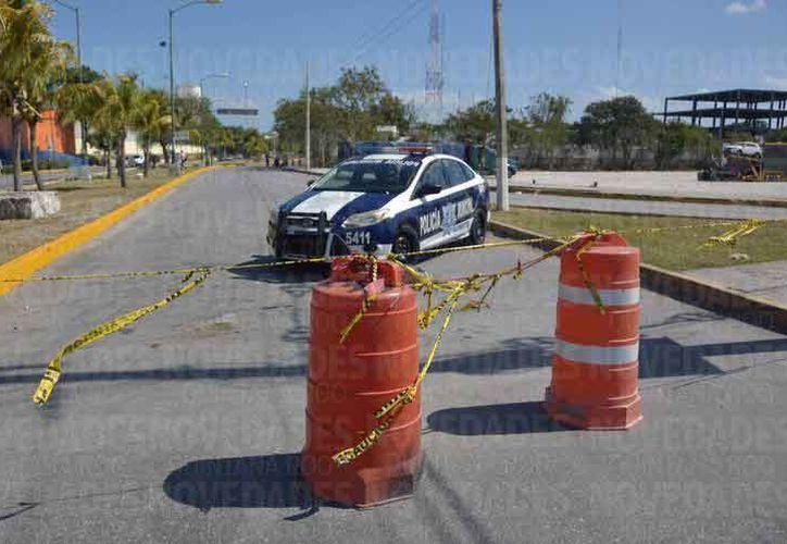 Anuncian modificaciones a las vialidades en Cancún. (Eric Galindo/SIPSE)