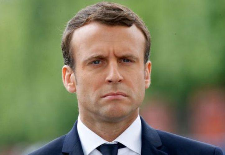 La campaña presidencial de Macron se vio afectada por una gran filtración de correos electrónicos. (Getty Images).