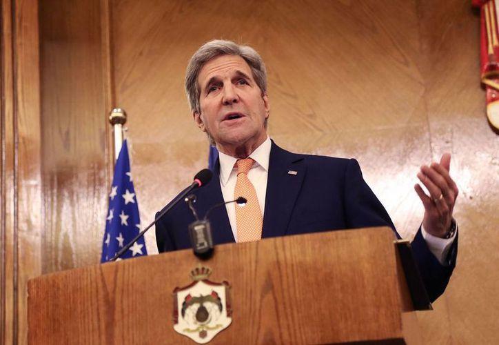 El secretario estadounidense de Estado, John Kerry, no ha dado a conocer detalles del alto al fuego en Siria. (AP)