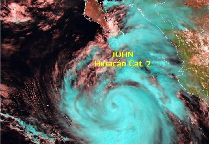 """Toman precauciones por cercanía del huracán """"John"""" de categoría 2. (vanguardia.com)"""