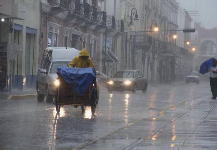 Se pronostican lluvias y temperaturas máximas de 31 a 35 grados, para los tres estados de la Península de Yucatán. (SIPSE)