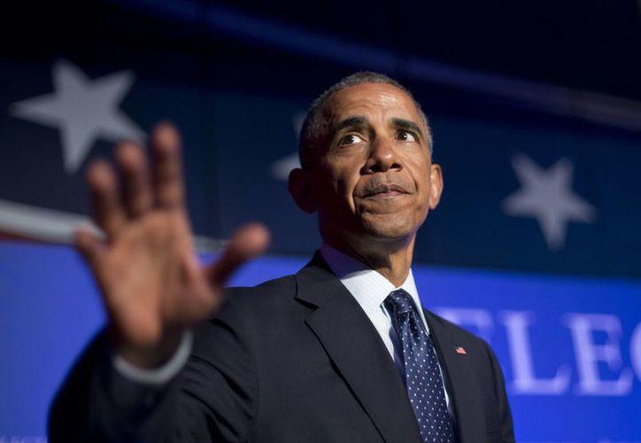 El portavoz de Obama afirmó que el Presidente está 'profundamente frustrado' ante la postura del Senado. (Agencias)