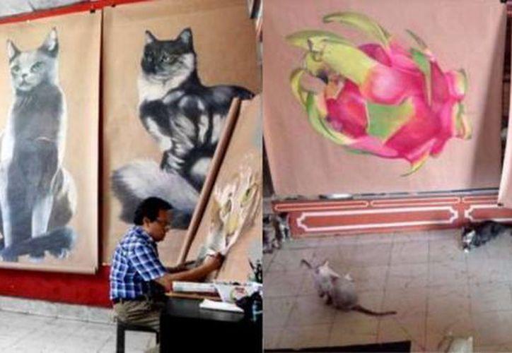 José Luis Loría llevará sus imponentes obras para la gente de Guangzhou, en el marco del X aniversario de la instalación del Consulado de México en la República Popular de China. (Milenio Novedades)