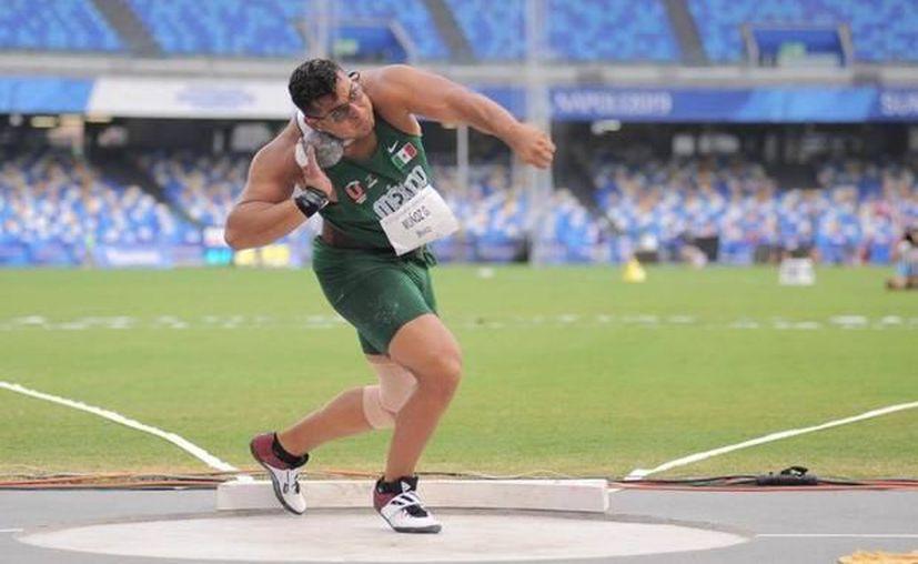 Es la primera Universiada Mundial para el atleta chihuahuense (Redacción/SIPSE)