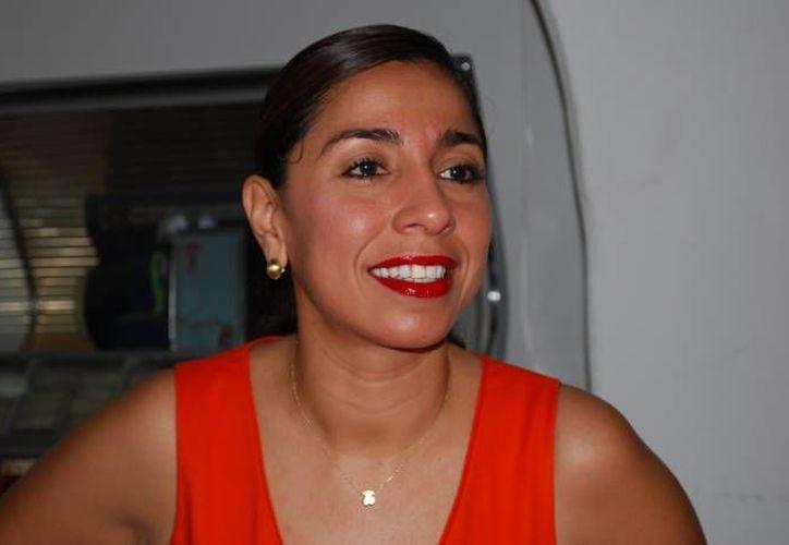 Marybel Villegas Canché, aspirante a una diputación. (Archivo/SIPSE)