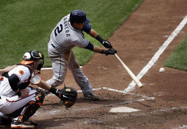 Cabrera se perdió 17 compromisos de los Padres de San Diego por un tirón en el muslo izquierdo. (Agencias)