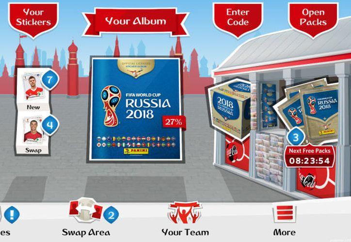 El álbum de Panini y la FIFA cuenta con una zona de intercambio. (Contexto)
