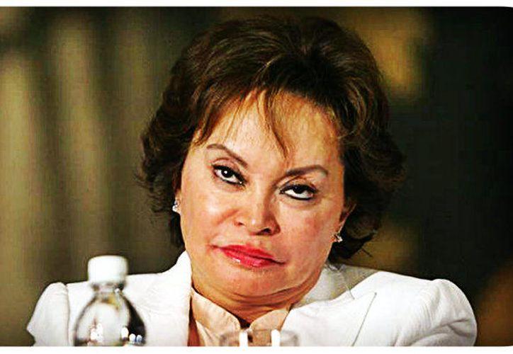 Elba Esther Gordillo fue líder del SNTE y la acusaron por crimen organizado y lavado de dinero. (Foto: Contexto/Internet).