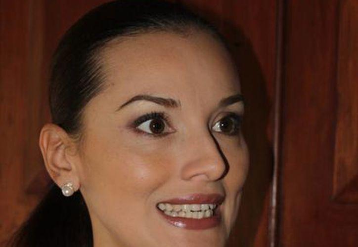 La secretaria de Cultura de Quintana Roo, Lilián Villanueva anunció el logro que fue alcanzado durante la jornada. (Redacción/SIPSE)