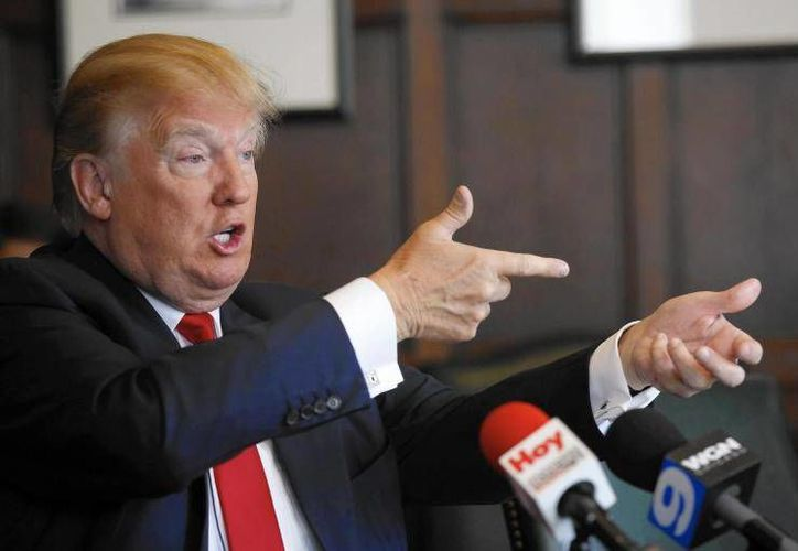 El polémico magnate norteamericano se ha expresado a favor de la venta de armas. (Foto: Archivo/Agencias)