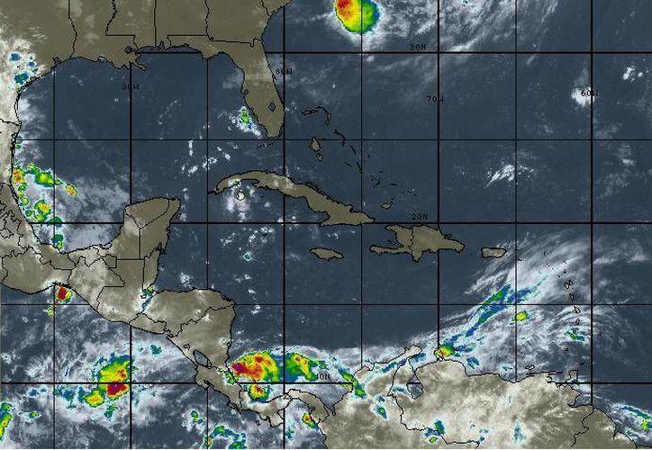 ara hoy se espera cielo parcialmente  nublado y un 20% en probabilidad de lluvias en Cancún.(Intellicast)