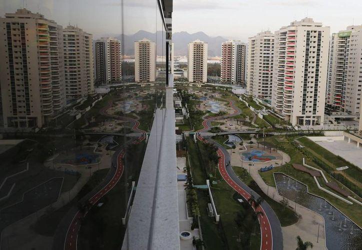 Las instalaciones de la Villa Olímpica, en Río de Janeiro, Brasil. (AP)