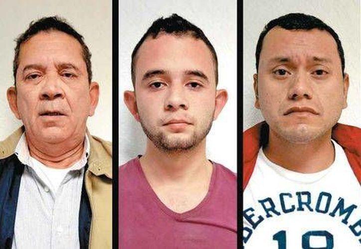 Francisco Navarrete Serna, su hijo José Francisco y Junior son acusados de pertenecer al Cártel Jalisco Nueva Generación y de la desaparición de cinco jóvenes en Veracruz. (Milenio)