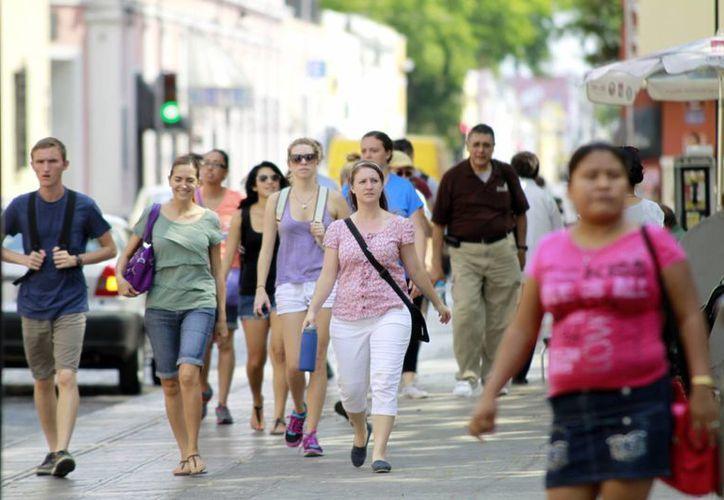 Los representantes de agencias de viajes recorrieron la ciudad. (Milenio Novedades)