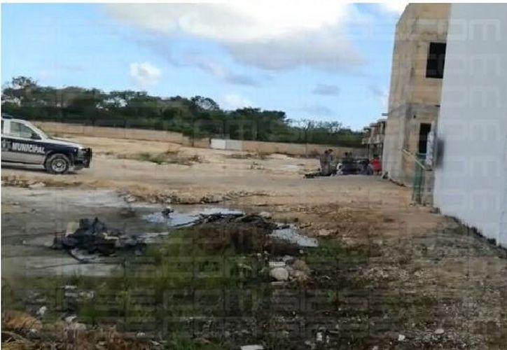 Se había hablado sobre una riña masiva en el fraccionamiento Rinconadas del Mar. (Foto: Captura de pantalla).
