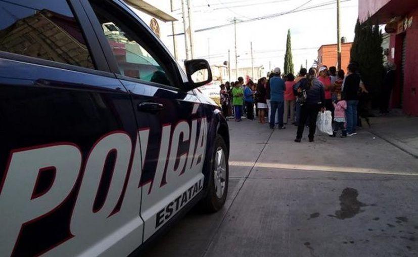 Los hechos se reportaron la tarde de este martes, en la colonia Piracantos, de Pachuca. (Excelsior)