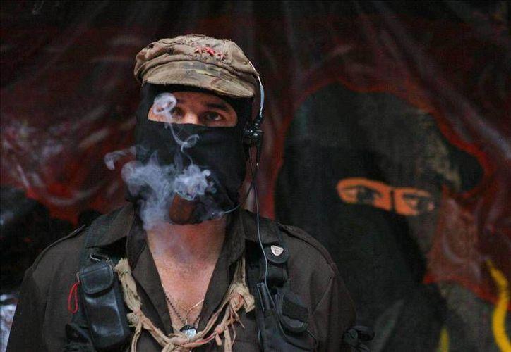 Los zapatistas luchan por una vida digna y sin dependencia del gobierno. (EFE)