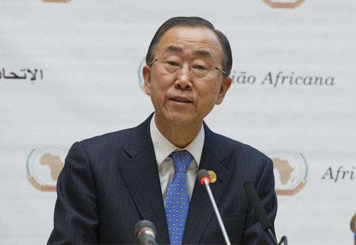 El secretario general de Naciones Unidas, Ban Ki-moon, expresó su apoyo a la formación de una fuerza regional contra Boko Haram en el marco de la 24 Cumbre de la Unión Africana en Etiopía. (Notimex)