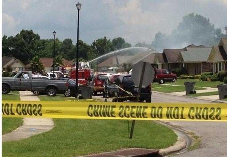 No se reportan vecinos heridos. (Twitter.com@treyschmaltz)