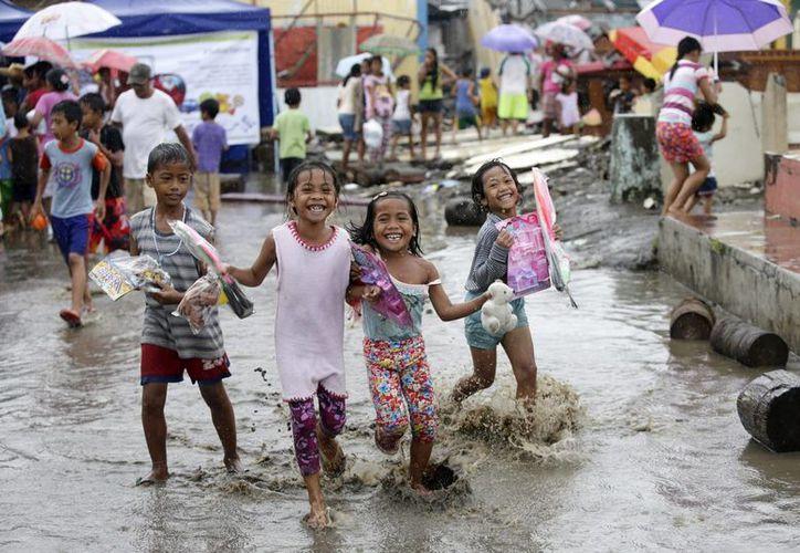 El tifón Haiyan ha sido el más potente y destructor que ha azotado Filipinas. (EFE)