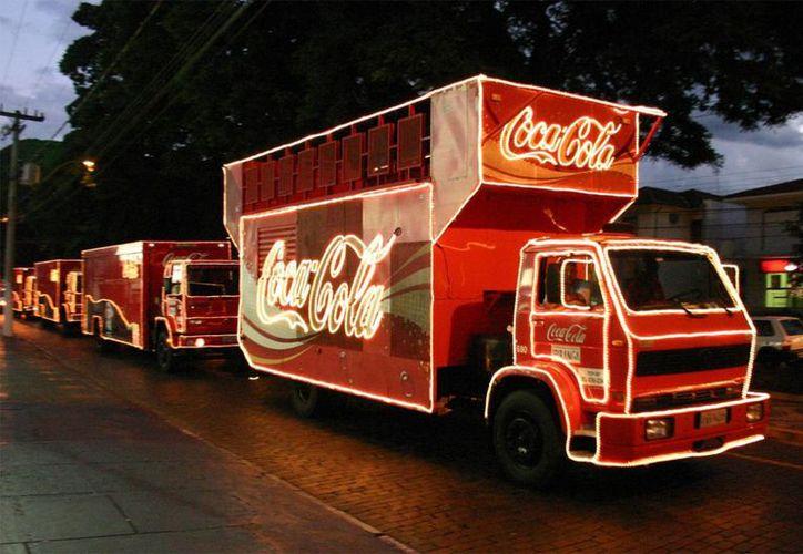 En México, la caravana Coca-Cola iniciará en San Luis Potosí el dos de diciembre y terminará el 18 del mismo mes en Monterrey. (Imagen de contexto de archivo/Agencias)