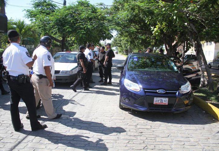 Los hechos ocurrieron el pasado lunes en la avenida La Costa. (Redacción/SIPSE)