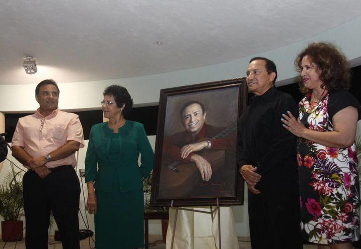 Cacho Medina ya es inmortal. (Christian Ayala/SIPSE)