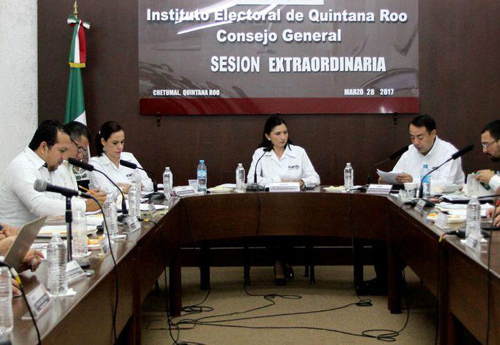 Consejo General del Instituto Electoral de Quintana Roo.