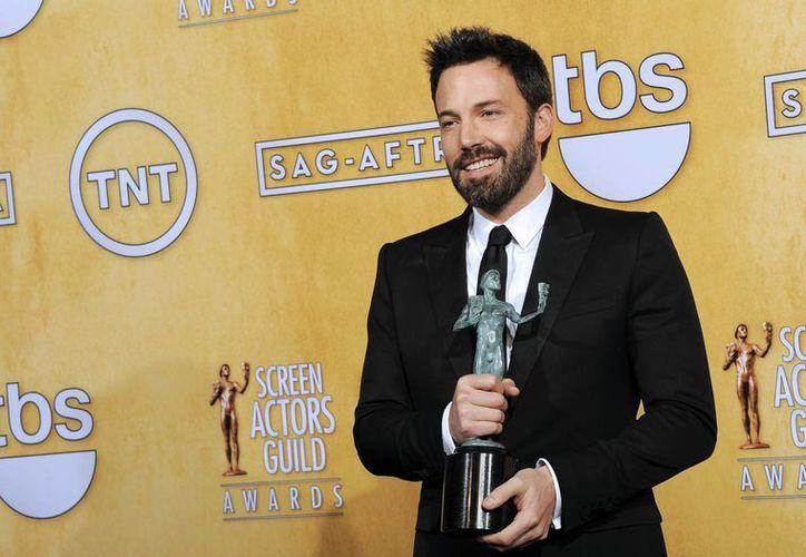 Ben Affleck y su 'Argo' no dejan de cosechar premios. (Agencias)