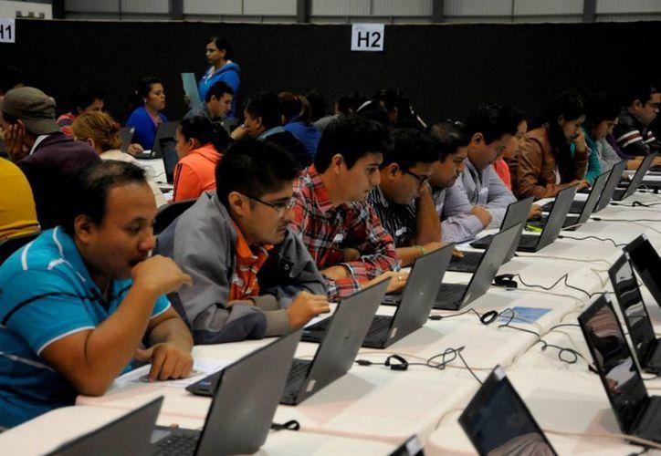 Mediante un comunicado, la SEP informó que este viernes concluyó la aplicación de la prueba  docente en Chiapas. Informó que los resultados podrán consultarse en la página de Internet del Sistema Nacional de Registro del Servicio Profesional Docente. (Archivo Notimex)