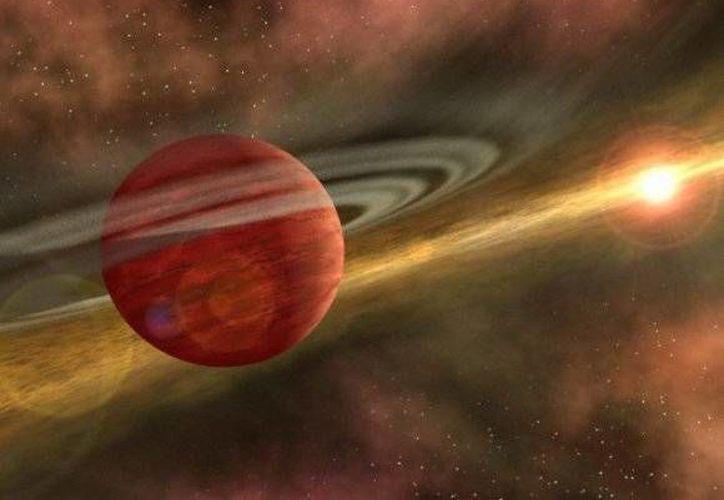 El planeta MOA-2011-BLG-322, situado a 25 mil años de luz de distancia. (NASA.com)