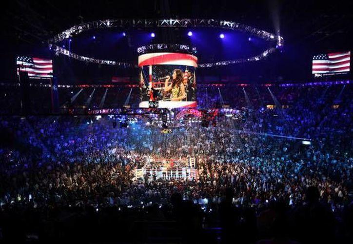La Arena Garden también es conocida como 'la catedral del boxeo'. (mgmgrand)