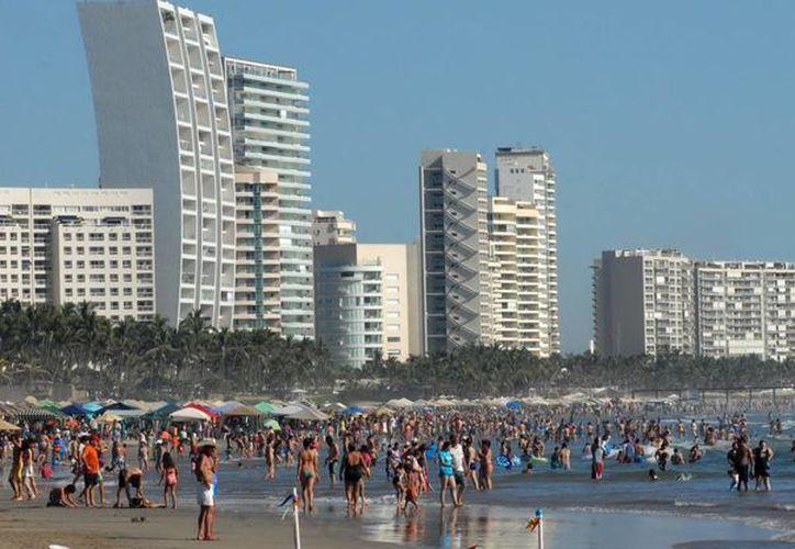 Las playas de Acapulco. (Archivo Notimex)