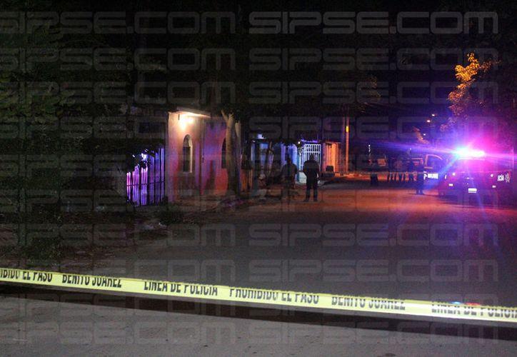 Los cuerpos de los hombres fueron hallados en una vivienda de la región 233. (Foto: Redacción/SIPSE)