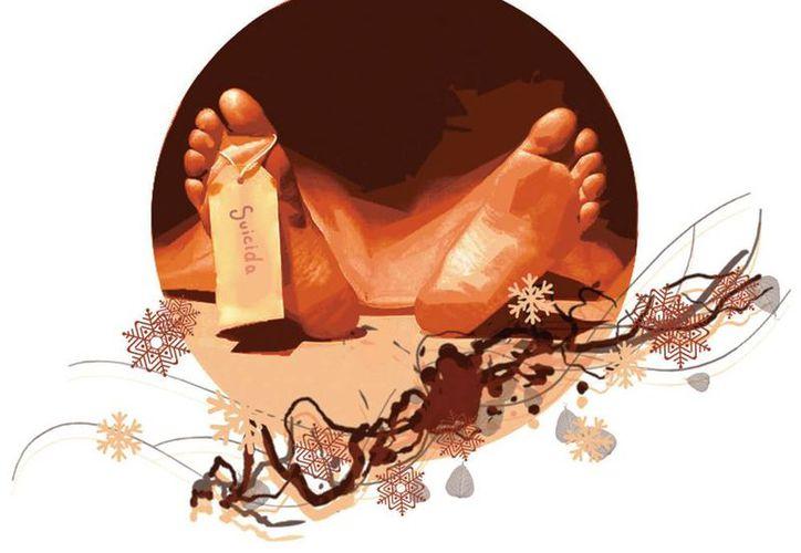 Navidad es la época del año en que más suicidios se registra, según la perito Regina de Juambelz. (Moisés Butze/Milenio)