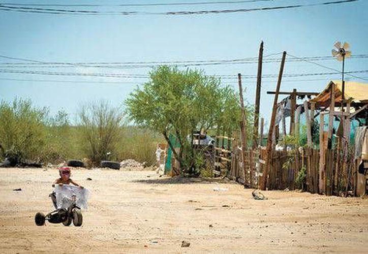 El Tepito, uno de los lugares donde los pobladores de Sonora señalan que puede adquirirse la droga 'de moda': el cristal. (Milenio Digital)
