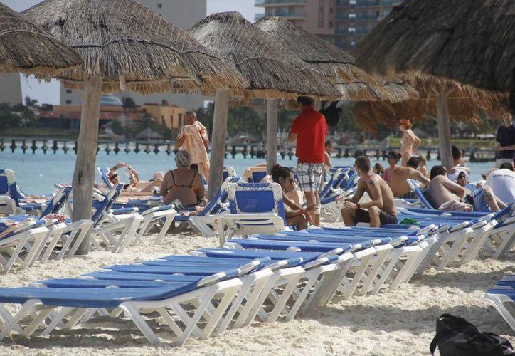 Se espera una ocupación hotelera del 90% en este destino de playa. (Israel Leal/SIPSE)