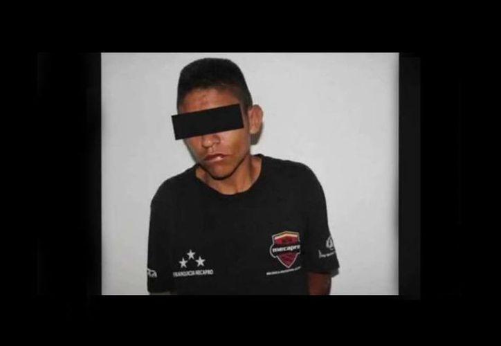 Imagen de José M. El Chepe, el joven que intentó robar en una casa en Aguascalientes y terminó muerto. (Noticieros Televisa)