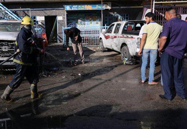 El grupo terrorista Estado Islámico se atribuyó el atentado en un comunicado difundido por su agencia de noticias, Amaq. (López Dóriga Digital)