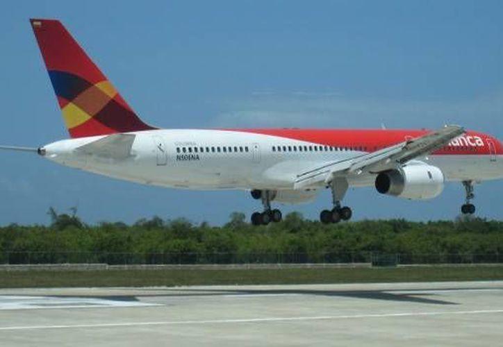 Los vuelos de Avianca para la Ciudad de México y Cancún tendrán una tarifa especial en marzo. (Contexto/Internet)