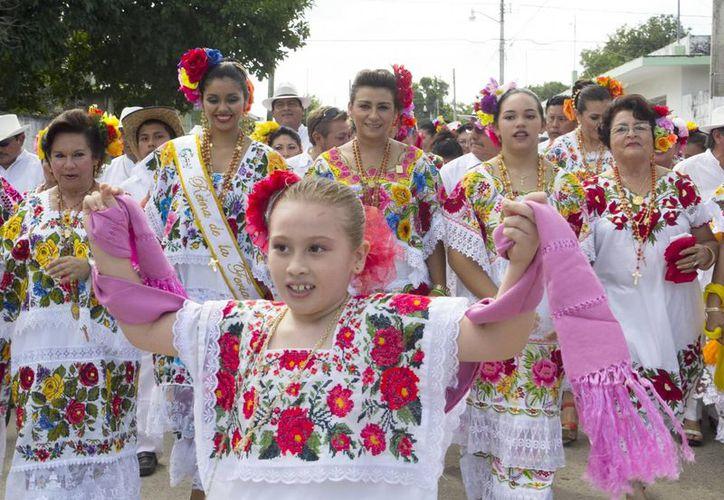 El festejo en Tizimín. (Cortesía)