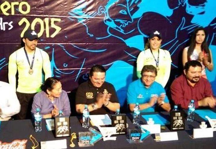 Imagen de la conferencia de prensa acerca de los pormenores del Maratón de la Ciudad de Mérida. (Milenio Novedades)